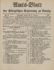 Amts-Blatt der Königlichen Regierung zu Danzig, 5. Dezember 1903, Nr. 49