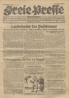 Freie Presse, Nr. 181 Dienstag 6. August 1929 5. Jahrgang