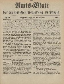 Amts-Blatt der Königlichen Regierung zu Danzig, 12. Dezember 1903, Nr. 50