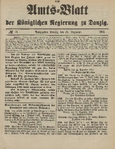 Amts-Blatt der Königlichen Regierung zu Danzig, 26. Dezember 1903, Nr. 52