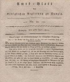Amts-Blatt der Königlichen Regierung zu Danzig, 26. Juli 1821, Nr. 30