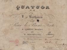 Quatuor No. 4 de L. de Beethoven