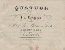 Quatuor No. 5 de L. de Beethoven