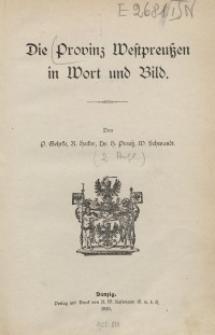 Die Provinz Westpreußen in Wort und Bild