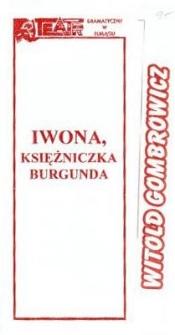 Iwona, księżniczka Burgunda - program teatralny