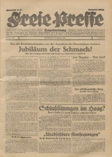 Freie Presse, Nr. 200 Mittwoch 28. August 1929 5. Jahrgang