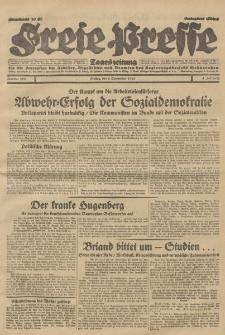 Freie Presse, Nr. 208 Freitag 6. September 1929 5. Jahrgang