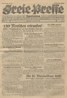 Freie Presse, Nr. 210 Montag 9. September 1929 5. Jahrgang