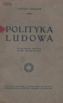 Polityka ludowa