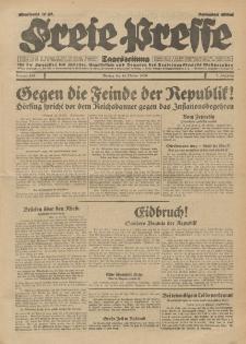 Freie Presse, Nr. 240 Montag 14. Oktober 1929 5. Jahrgang