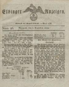 Elbinger Anzeigen, Nr. 96. Mittwoch, 7. Dezember 1825