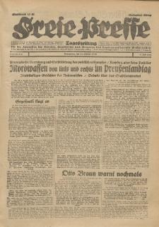 Freie Presse, Nr. 243 Donnerstag 17. Oktober 1929 5. Jahrgang