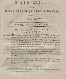 Amts-Blatt der Königlichen Regierung zu Danzig, 10. Juni 1829, Nr. 23