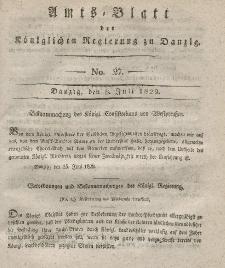 Amts-Blatt der Königlichen Regierung zu Danzig, 8. Juli 1829, Nr. 27