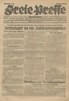 Freie Presse, Nr. 248 Mittwoch 23. Oktober 1929 5. Jahrgang