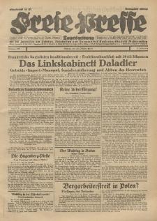 Freie Presse, Nr. 252 Montag 28. Oktober 1929 5. Jahrgang