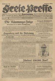 Freie Presse, Nr. 253 Dienstag 29. Oktober 1929 5. Jahrgang