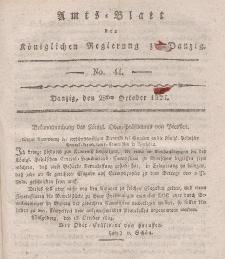 Amts-Blatt der Königlichen Regierung zu Danzig, 28. Oktober 1824, Nr. 44
