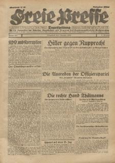 Freie Presse, Nr. 257 Sonnabend 2. November 1929 5. Jahrgang