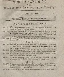 Amts-Blatt der Königlichen Regierung zu Danzig, 29. Februar 1832, Nr. 9