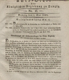 Amts-Blatt der Königlichen Regierung zu Danzig, 2. Mai 1832, Nr. 18