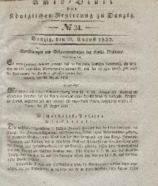Amts-Blatt der Königlichen Regierung zu Danzig, 22. August 1832, Nr. 34