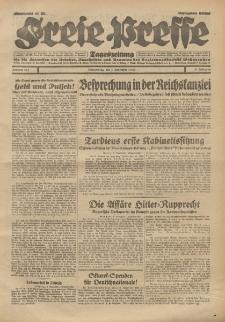 Freie Presse, Nr. 261 Donnerstag 7. November 1929 5. Jahrgang