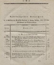 Amts-Blatt der Königlichen Regierung zu Danzig, Jahrgang 1832 (Chronologisches Verzeichniß)