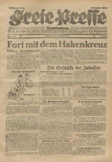 Freie Presse, Nr. 267 Donnerstag 14. November 1929 5. Jahrgang