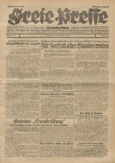Freie Presse, Nr. 277 Mittwoch 27. November 1929 5. Jahrgang