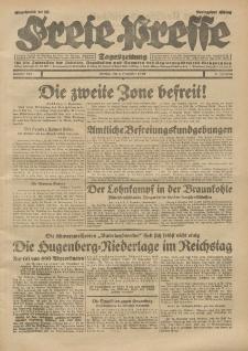 Freie Presse, Nr. 281 Montag 2. Dezember 1929 5. Jahrgang