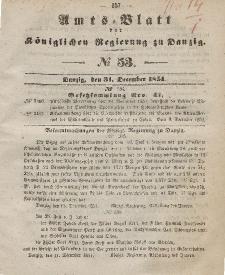 Amts-Blatt der Königlichen Regierung zu Danzig, 31. Dezember 1851, Nr. 53