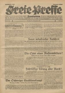 Freie Presse, Nr. 288 Dienstag 10. Dezember 1929 5. Jahrgang