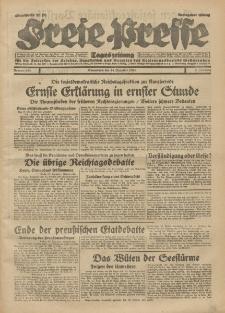 Freie Presse, Nr. 292 Sonnabend 14. Dezember 1929 5. Jahrgang