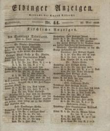 Elbinger Anzeigen, Nr. 44. Sonnabend, 31. Mai 1828