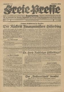 Freie Presse, Nr. 299 Montag 23. Dezember 1929 5. Jahrgang