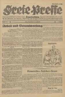 Freie Presse, Nr. 157 Sonnabend 7. Juli 1928 4. Jahrgang