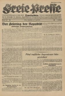 Freie Presse, Nr. 161 Donnerstag 12. Juli 1928 4. Jahrgang