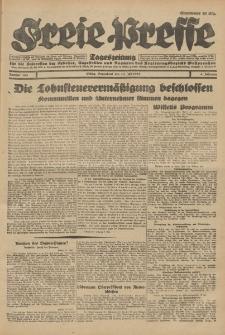 Freie Presse, Nr. 163 Sonnabend 14. Juli 1928 4. Jahrgang