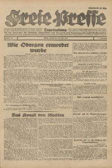 Freie Presse, Nr. 168 Freitag 20. Juli 1928 4. Jahrgang