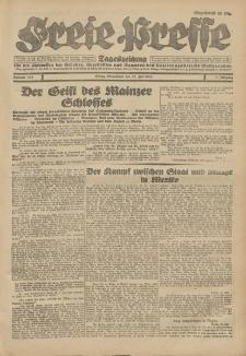 Freie Presse, Nr. 169 Sonnabend 21. Juli 1928 4. Jahrgang
