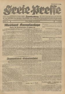 Freie Presse, Nr. 171 Dienstag 24. Juli 1928 4. Jahrgang
