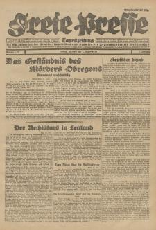 Freie Presse, Nr. 178 Mittwoch 1. August 1928 4. Jahrgang