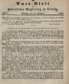 Amts-Blatt der Königlichen Regierung zu Danzig, 28. Februar 1866, Nr. 9