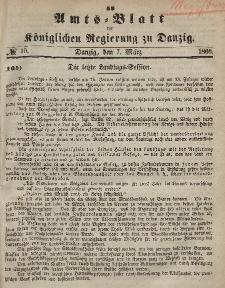 Amts-Blatt der Königlichen Regierung zu Danzig, 7. März 1866, Nr. 10