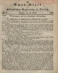 Amts-Blatt der Königlichen Regierung zu Danzig, 28. März 1866, Nr. 13