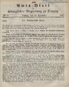 Amts-Blatt der Königlichen Regierung zu Danzig, 19. Dezember 1866, Nr. 51