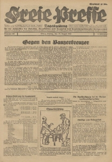 Freie Presse, Nr. 192 Freitag 17. August 1928 4. Jahrgang