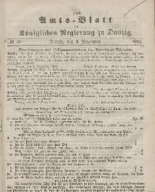 Amts-Blatt der Königlichen Regierung zu Danzig, 9. November 1864, Nr. 45