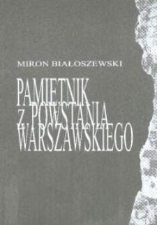 Pamiętnik z Powstania Warszawskiego - program teatralny